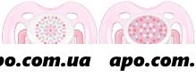 Авент пустышка силик free flow0-6месn2/для девочек/bpa-free / scf180/26