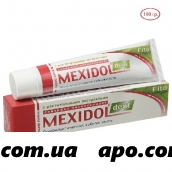 Мексидол дент зубная паста fito 100,0