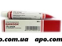Клотримазол 1% 20,0 крем (канизон)