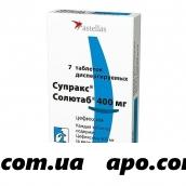 Супракс солютаб 0,4 n7 табл дисперг