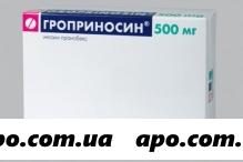 Гроприносин 0,5 n20 табл