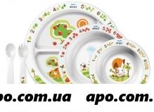 Авент набор посуды д/дет 6мес (арт 65680) scf716/00