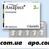 Амарил 0,002 n30 табл
