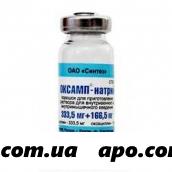 Оксамп-натрий 0,5 n50 флак пор в/в в/м