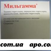 Мильгамма 2мл n25 амп р-р в/м