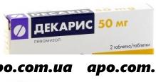 Декарис 0,05 n2 табл
