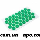 Иппликатор тибет массаж на мягк подлож/зелен 12х22