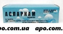 Аспаркам n60 табл /фармапол