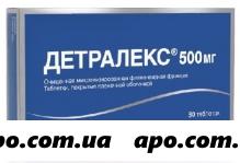 Детралекс 0,5 n30 табл п/о