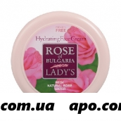 Rose of bulgaria крем для лица увлажняющий 100мл