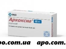 Аркоксиа 0,06 n28 табл п/плен/оболоч