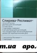 Спирива респимат 2,5мкг/доза 4мл картр р-р д/инг