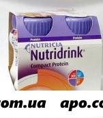Нутридринк компакт протеин персик/манго 125мл n4