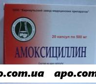 Амоксициллин 0,5 n20 капс