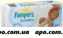 Памперс салфетки sensitive детские n56 /смен блок/