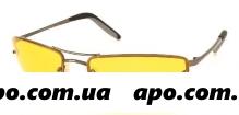 Очки поляр cafa france  унисекс/желт линза/сf12507y