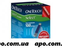 Тест-полоски one touch select n100