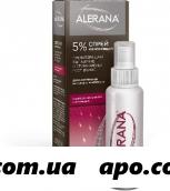 Алерана 5% 60мл флак спрей д/наруж