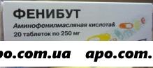 Фенибут 0,25 n20 табл /олайнфарм/