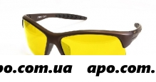 Cafa france очки поляр спорт/желт линза/сf988y