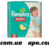 Памперс подгузники-трусики pants д/мальч и дев junior n15