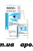 Хило-комод увлажняющий раствор д/глаз 10мл
