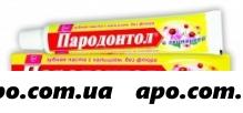 Пародонтол зубная паста эхинацея63,0