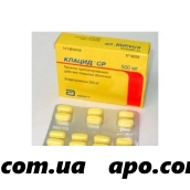 Клацид ср 0,5 n14 табл пролонг п/плен/оболоч