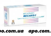 Месакол 0,4 n50 табл п/о