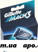 Жиллет мак3 кассета сменная n4