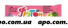 Леовит батончик фрукт фрутончик с яблоко/курага/фенхель/злаки 20,0