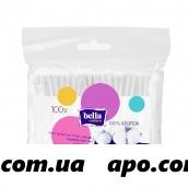 Белла cotton палочки ватные n100 п/э