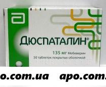 Дюспаталин 0,135 n50 табл п/о