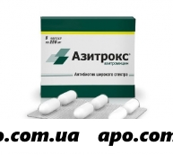 Азитрокс 0,25 n6 капс