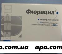 Флорацид 0,5 n10 табл п/о