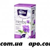 Белла прокладки ежед panty herbs verbena n20
