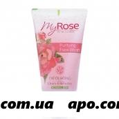 My rose of bulgaria гель очищающий д/лица 150мл