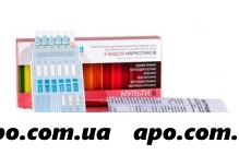 Тест на 6 видов наркотиков