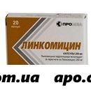 Линкомицин 0,25 n20 капс