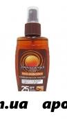 Флоресан масло интенсивный загар spf 25 водост 150мл