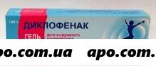 Диклофенак 5% 100,0 гель