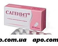 Сагенит 0,1 n30 табл