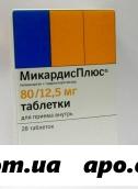 Микардис плюс 0,08/0,0125 n28 табл