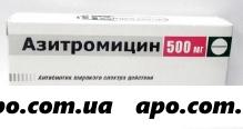 Азитромицин 0,5 n3 табл п/плен/оболоч