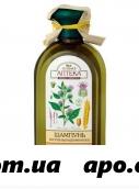 Зеленая аптека шампунь лопух/протеины пшен против вып вол 350мл
