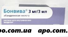 Бонвива 0,003/3мл n1 шприц-тюбик р-р в/в