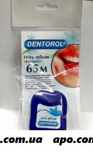 Dentorol зубная нить 65м