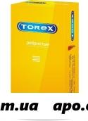 Презерватив torex  ребристые n12