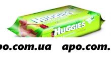 Хаггис детские протирочные салфетки ultra comfort+aloe wipes, n 64