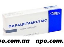 Парацетамол мс 0,5 n20 табл